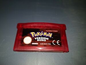 Nintendo Game Boy Advance GBA DS ;; POKEMON VERSION RUBIS