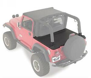 Rampage For 1997-2006 Jeep Wrangler TJ Tonneau Cover Vinyl Black Denim - 761015