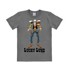 "T-shirt Lucky Luke ""Easy Fit Showdown"" gris Tailles M/L (Neuf)"