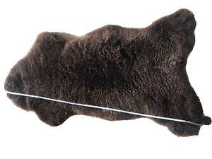 Real Sheepskin Rug(Austria) Extra Soft Thick Genuine Natural Huge 120cm-140cm