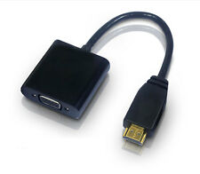 HD 1080P HDMI Male To VGA Female Video Converter Adapter Chipset Built-in