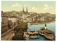 The Quay Lucerne A4 Photo Print