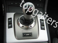 FITS BMW E46 M3 SMG GEAR GAITER SHIFT BOOT REAL LEATHER