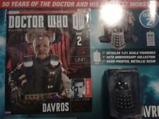 Doctor Who Figurine Collection DAVROS Part 2 #DW7