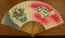 Eventail Chine ou Japon China or Japan Fan Faecher Ventaglio abanico 风扇