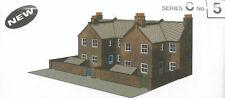 Superquick Card Kit - OO/HO Gauge-Series C No5-C5- Redbrick Terrace House Backs