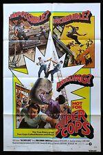 SUPER COPS * 1SH CineMasterpieces ORIGINAL MOVIE POSTER 1974 POLICE LAW COP
