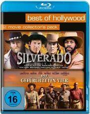 Blu-ray * Silverado + Die gefürchteten Vier * NEU OVP * 2 Filme