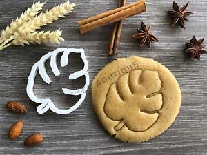 Tropical Leaf Cookie Cutter | Fondant Cake Decorating | UK Seller