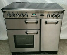 Rangemaster 90 cm Professional Full Electric/Ceramic Range Cooker - Stainless St