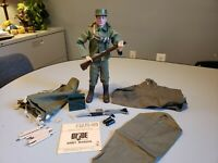Vintage GI Joe 1964 Action Soldier Pat. Pending Stamp with Lots of Gear Hasbro