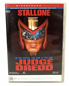 Judge Dredd - Sylvester Stallone - Rare Region 4 DVD Free Postage