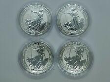 More details for 4 x 2018 1oz silver britannia, oriental border, bullion coin (limited version)