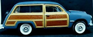 SS 1949 FORD WOODY WAGON SUNNYSIDE MODEL 7737 Scale 1:28