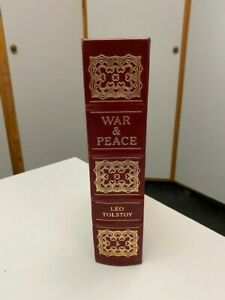 War & Peace - LEO TOLSTOY Collector's Edition 1981 Easton Press - Excellent!