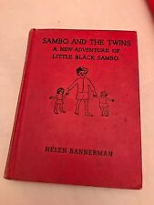 Sambo and the Twins vintage book 1936 FIRST EDITION