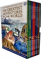 Tony Bradman The Greatest Adventures in the World Collection 10 Books Box Set