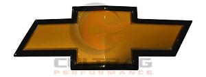2011-2014 Silverado 2500HD 3500HD GM Front Grille Gold Bowtie Emblem 22829420