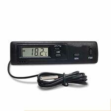 50~70°C  LCD Digital Coche Termómetro Temperatura Empotrar Sensor Medidor 1.5v