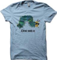 The Very Hungry Caterpillar light blue thug life caterpillar blue t-shirt 01302
