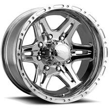 """Ultra 208P Badlands 16x8 8x6.5"""" +10mm Polished Wheel Rim 16"""" Inch"""