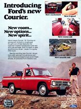 1976 Ford Courier Pickup Truck Original Advertisement Print Art Car Ad J976
