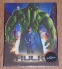 The Incredible Hulk (blu-ray) Steelbook - novamedia (Lenticular). NEW & Sealed