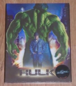 The Incredible Hulk (blu-ray) Steelbook - novamedia (Lenticular). NEW & Sealed