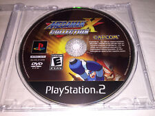 Mega Man X Collection (Sony PlayStation 2, 2006) PS2 Game in Plain Case Exc!