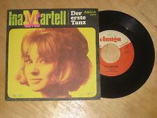 Ina Martell - Der erste Tanz - c/o Michael Hansen  Vinyl  Single Amiga