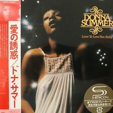 Love to Love You Baby by Donna Summer (SHM-CD), 2012 UICY-75296 Japan