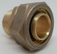 "Out Door Wood Boiler 1"" Pex-al-Pex Compression Fitting  MPT Male Pipe Thread"