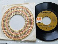 """SERGIO MENDES & BRASIL '66 - Scarborough Fair / Canto Triste NM- LATIN JAZZ 7"""""""