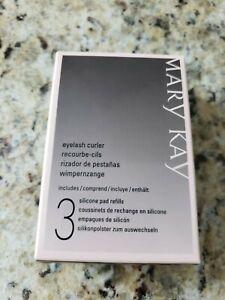 NIB Mary Kay Metal Eyelash Curler w/1 Silicone Pad--Limited item! LAST ONE!