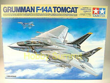 Tamiya 1/48 Grumman F-14A TOMCAT US Navy Jet Fighter  Aircraft Carrier   61114