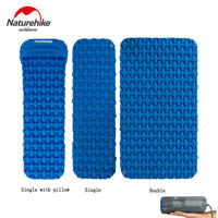 Ultralight Inflatable Mat Sleeping Pad Damp-proof Cushion with Pillow/Air Bag