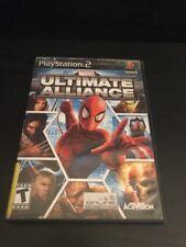 Playstation 2 Marvel Ultimate Alliance (Complete)