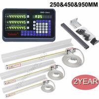 CNC Milling Digital Readout 3Axis DRO 250&450&950mm 5um Linear Scale Encoder