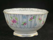 REPLACEMENT Royal Albert China Sugar Bowl DEBUTANTE 1950s Pink Rose Grey Lace