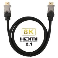 Digital Fiber Optic 8K HDMI 2.1 Cable Supporting HDCP 2.2, 48Gbps, 4:4:4, HDR10