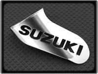 Polished Toe Guard for SUZUKI DL650 V-STROM DL 650 (Racing Shark Fin)