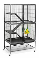 Large Ferret Cage Chinchilla Rabbit Hamster Guinea Pig House Metal Wire Habitat