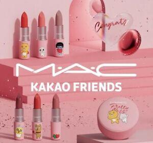 [ M.A.C ] MAC X KAKAO FRIENDS Limited Edition 2021 New Lipstick 6 Colors
