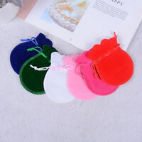 10Pcs Jewelry Bags Pouches Mini Velvet Drawstring Wedding Favor Bag Gifts'ColoTS
