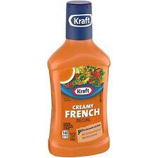 Kraft Creamy French Salad Dressing, 16 fl oz Bottle ( 3 Bottles )