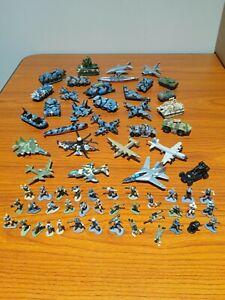 Vtg HUGE LOT 67 Micro Machines Military Terror, Freedom Vehicles & Soldiers LGTI