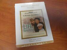 Life Is Beautiful Dvd Movie, Roberto Benigni, Nicoletta Braschi, English/Italian