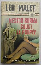 LEO MALET NESTOR BURMA COURT LA POUPEE EDITION ORIGINALE
