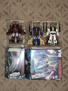 Transformers Earthrise WFC Seeker Elite 2 Pack Dirge & Ramjet w/ E-26 Thrust