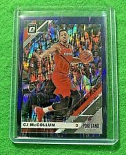 CJ MCCOLLUM OPTIC PRIZM CARD JERSEY#3 TRAIL BLAZERS 2019-20 Panini Donruss Optic